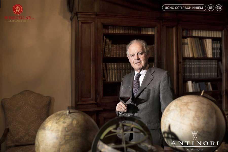 Ảnh 1: Piero Antinori - thành viên gia tộc Marchesi Antinori