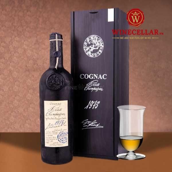 Cognac Petite Champagne 1975