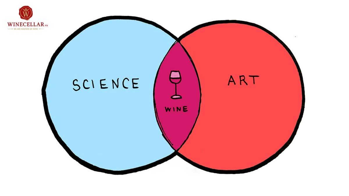 Pha trộn rượu vang là kết tinh của khoa học và nghệ thuật
