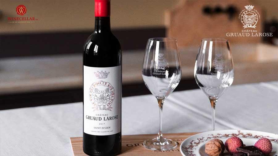 Ảnh 1: Rượu vang Château Gruaud-Larose
