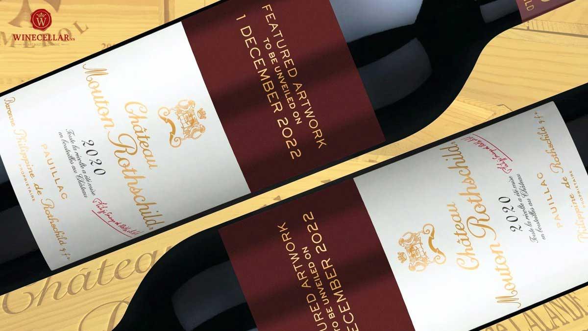 Ảnh 1: Rượu vang Chateau Mouton Rhothschild 2020