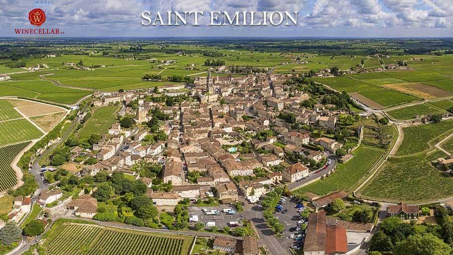 Ảnh 1: Saint Emilion - nơi tạo nên những chai vang hương vị tươi ngon, đậm đà với hương vị