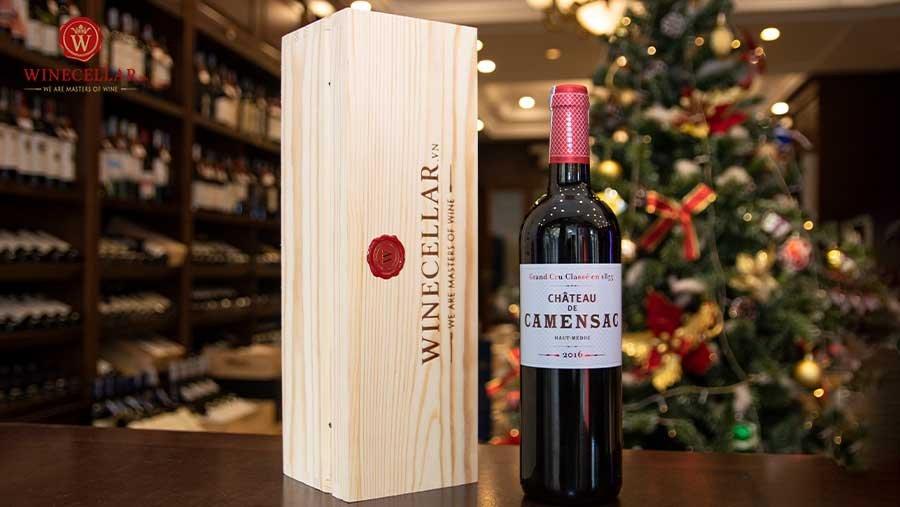Bộ quà tặng rượu vang Château de Camensac