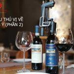 Những điều thú vị về rượu vang Ý phần 2