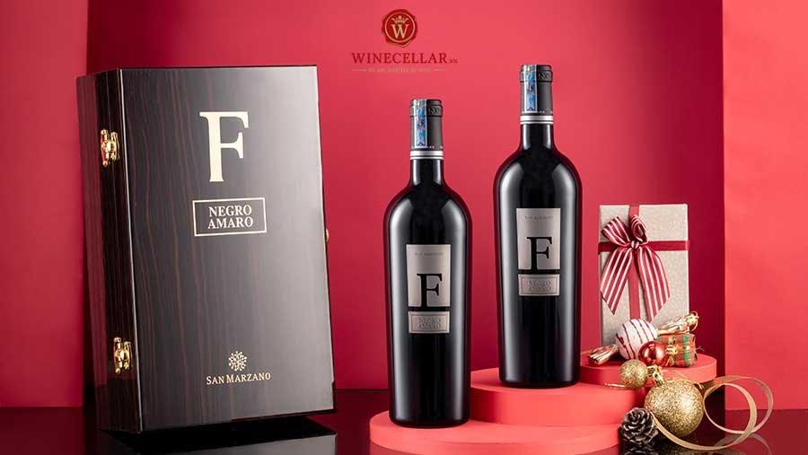 Rượu vang F Negroamaro hấp dẫn