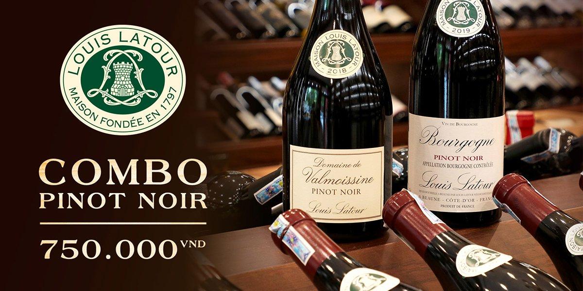 Combo rượu vang Burgundy uống hàng ngày
