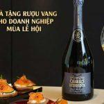Quà tặng rượu vang cho doanh nghiệp mùa lễ hội