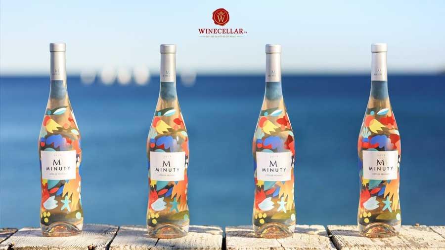 Rượu vang hồng M de Minuty Rose Limited Edition Mina & Zosen